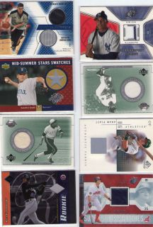 2002 Upper Deck Curt Schilling Jersey Card 13 Pcs Lot
