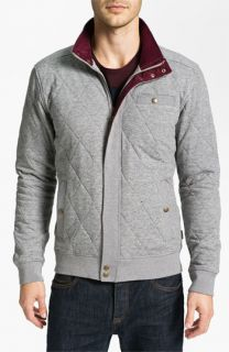 Ted Baker London Thecity Quilted Jersey Jacket