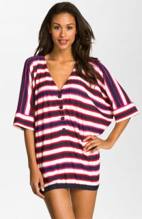 MARC BY MARC JACOBS Field Stripe Tunic Cover Up