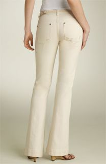 MICHAEL Michael Kors Bootcut Stretch Jeans with Belt (Petite)