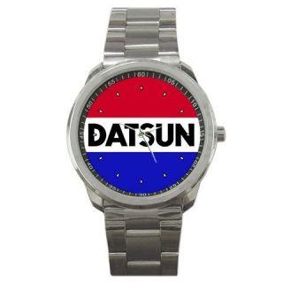 Nissan Datsun SSS DAT Truck Sport Car Logo Metal Watch