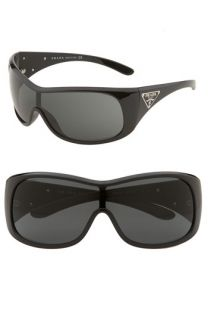 Prada Triangle Logo Shield Sunglasses