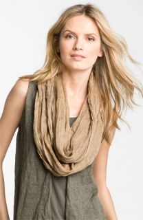 Eileen Fisher Washed Linen Infinity Scarf