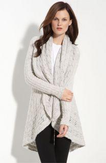 autumn cashmere Pointelle Knit Cashmere Cardigan