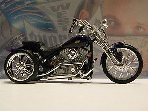 Custom Harley Davidson 1999 FXSTS Springer Softail PURPLE Trike 1 18