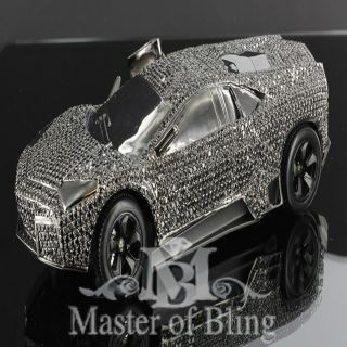 Mens New Hip Hop Bling Custom Charm Car Iced Out Necklace Pendant Lab