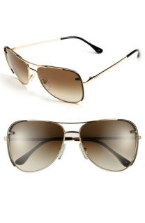Fendi Metal Aviator Sunglasses