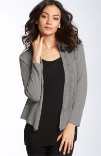 Eileen Fisher Open Linen Cardigan