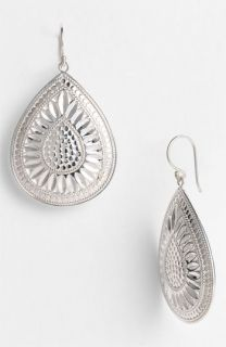 Anna Beck Leaf Large Teardrop Earrings ( Exclusive)