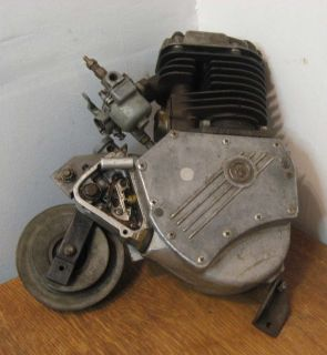 Old Whizzer Bike Bicycle Motor Whizzer Motorcycle Engine