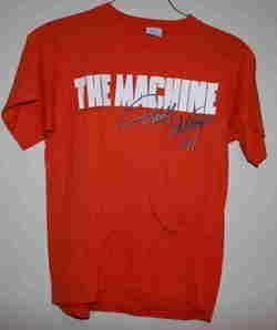 Vintage Darrell Waltrip # 17 Tide Ride Machine T shirt M 1980s Orange