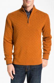 Robert Talbott Cable Knit Merino Wool Sweater (Online Exclusive)
