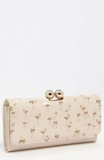 Ted Baker London Flamingo Print Matinee Wallet