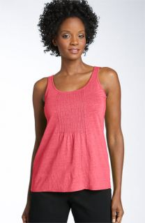 Eileen Fisher Pleated Linen Tank