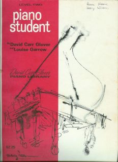 David Carr Glover Library Piano Student Book Level 2