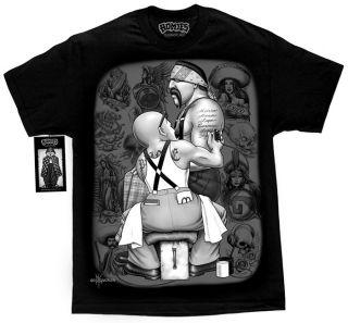 DGA Tattoo Graffiti Lowrider Cali Life David Gonzales Homies T Shirt M