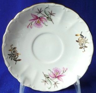 fine bohemian china czechoslovakia cup saucers sets