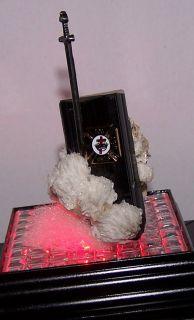 Medieval KT Masonic Knight Templar Black Crystal Sword Jewel Gift