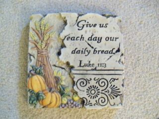 New religious daily bread kitchen wall decor prayer plaque house