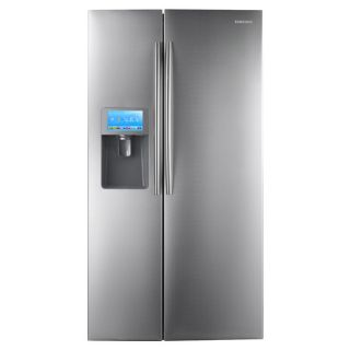 Samsung 30 Cubic Foot Stainless Steel Side by Side Refrigerator w App