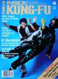INSIDE KUNG FU MAGAZINE JAMES HYDRICK AL DACASCOS KARATE MARTIAL ARTS