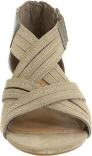 Circa by Joan & David Qamar Womens Wedge Ankle Boots Sandals Shoe SZ 8