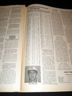 Atlanta Braves 1977 Dale Murphy Richmond Minor League Sporting News