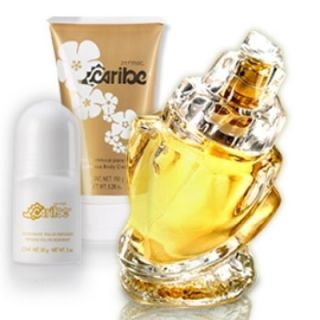 de Parfum Caribe for Women w Free Gift Estuche Para Dama Caribe