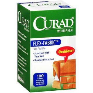 Curad Fabric 100 Ct Sterile Assorted Adhesive Bandages