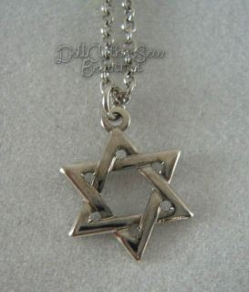 Doll Clothes Fits American Girl Star of David Necklace