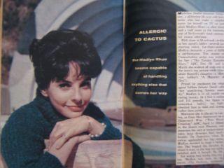 17 1961 TV Guide DAN BLOCKER MADLYN RHUE BONANZA MICHAEL LANDON DON
