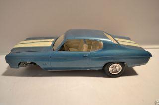 1969 69 1970 70 Chevy Chevelle Model Kit Car Parts Rebuilder Project
