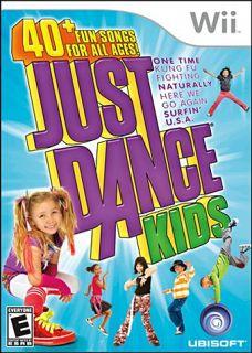 Just Dance Kids New Nintendo Wii