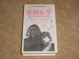Cult People Russ Meyer Exploitation Interviews 1989 VHS