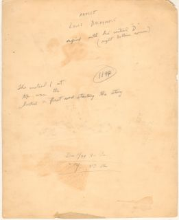 Beginner   Very Old Page   1894 Signed original art by Louis Dalrymple