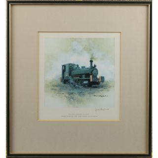 David Shepherd East Somerset Railway Train Print