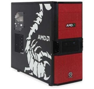 AMD Custom Gaming PC 3 6 GHz Quad Core 500GB Hard Drive 4GB DDR3