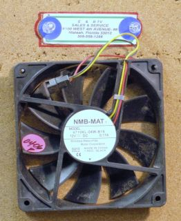 DC Brushless Fan NMB Mat Model 4710KL 04W B19 12V 0 17A Minebea
