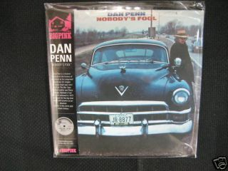 Dan Penn Nobody's Fool Mini LP CD New Memphis Soul