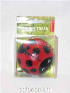 ladybug 60 minute kitchen timer super cute new