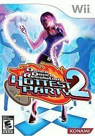 NINTENDO WII GAME DANCE DANCE REVOLUTION DDR HOTTEST PARTY 2 GAME ONLY