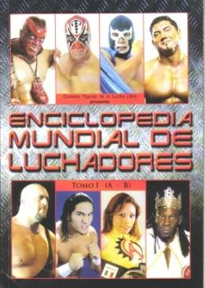 ENCICLOPEDIA MUNDIAL DE LUCHADORES TOMO I wrestling magazine