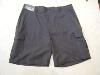 Daniel Cremieux 100% Wool Mens Cargo 38 Shorts L Golf Dress Pants