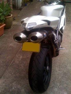Ducati 848 1098 1098R 1098s 1198 Luces LED Luz Trasera
