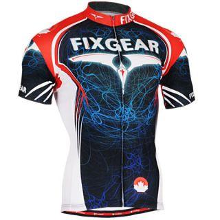 FIXGEAR Cycling Jersey Custom Road Bike Clothes CS3502