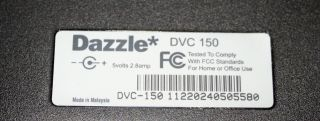 Pinnacle Dazzle Digital Video Creator 150 Capture Card $209 Retail