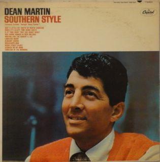 Dean Martin Southern Style LP Vinyl Record Album