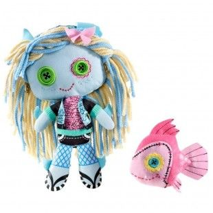 BNIB Monster High Lagoona Blue Pet Fish Neptuna Plush Set