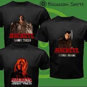 Machete Danny Trejo Steven Seagal New Movie T Shirt