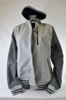 Wool Coachstroyer Destroyer 426774 063 Grey Dark Grey Jacket